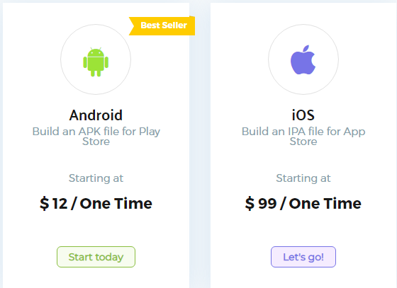 how much is it to make app