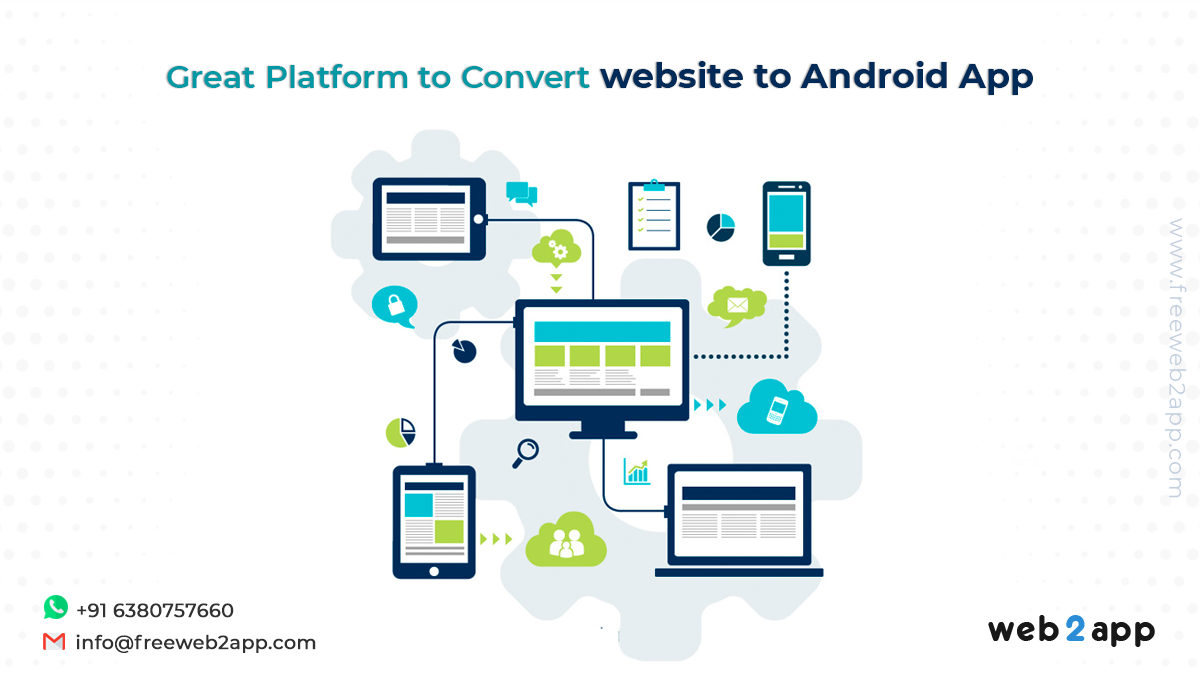 Great Platform to convert website to android app