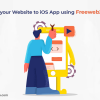 Turn your Website to iOS App using Freeweb2app