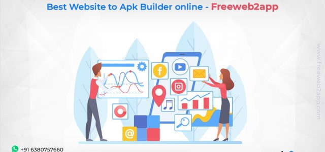 Best Website to Apk Builder online - Freeweb2app
