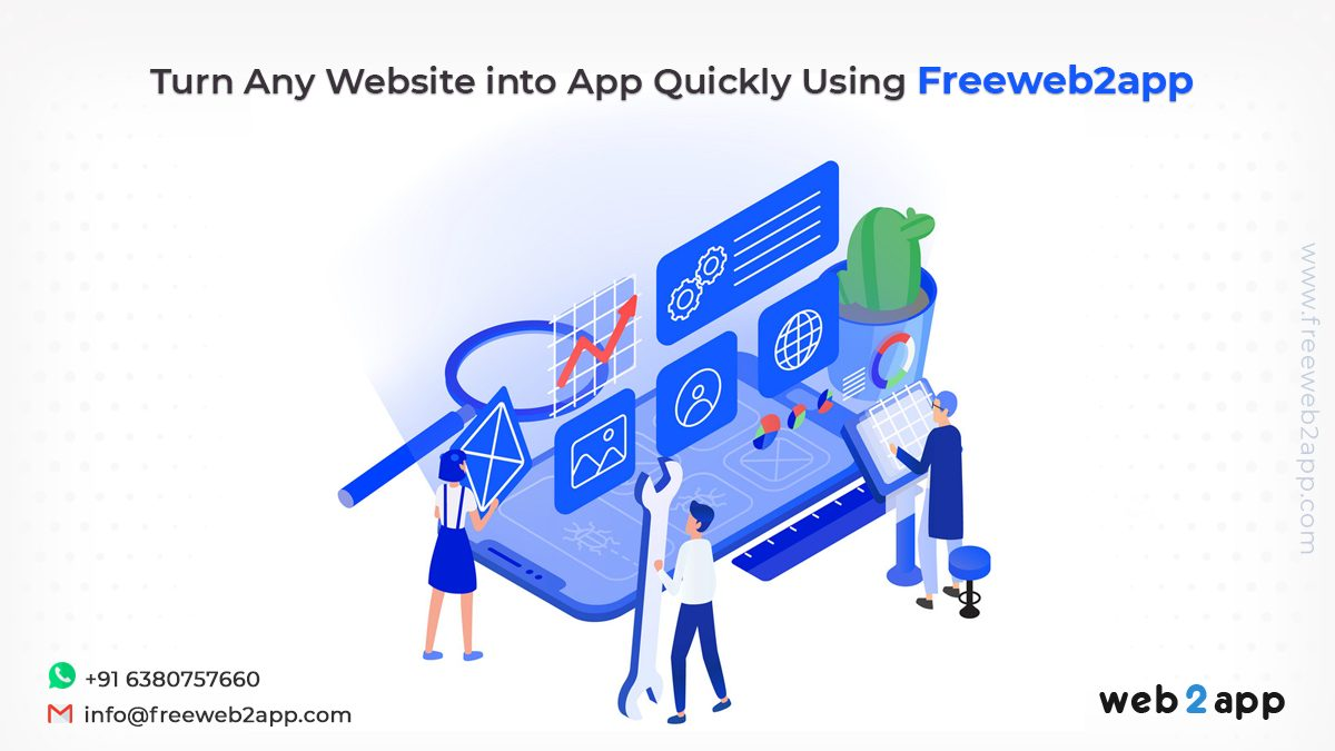 Turn Any Website into App Quickly Using Freeweb2app
