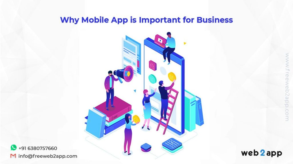 Why Mobile App is Important for Business - convert website to mobile app