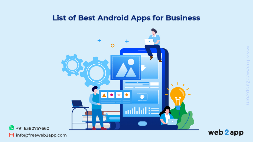 List Of Best Android Apps For Business-freeweb2app