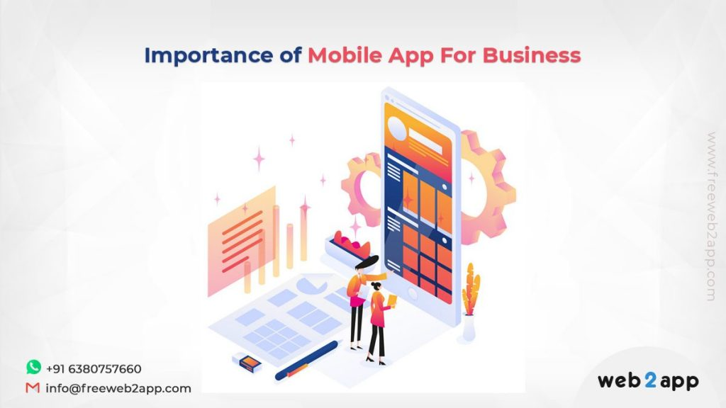 Importance of Mobile App For Business-freeweb2app