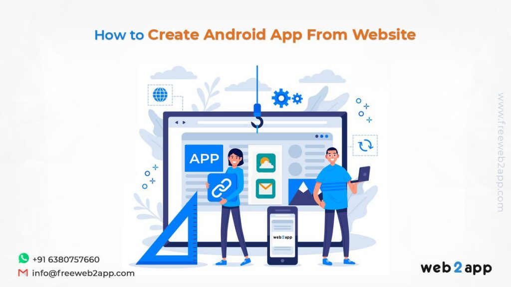 How to Create Android App From Website - freeweb2app