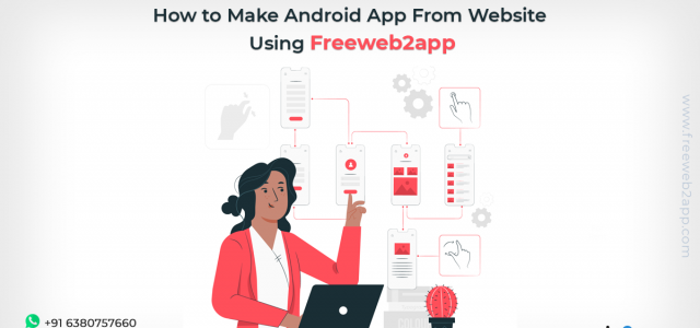 How to Make Android App From Website using Freeweb2app