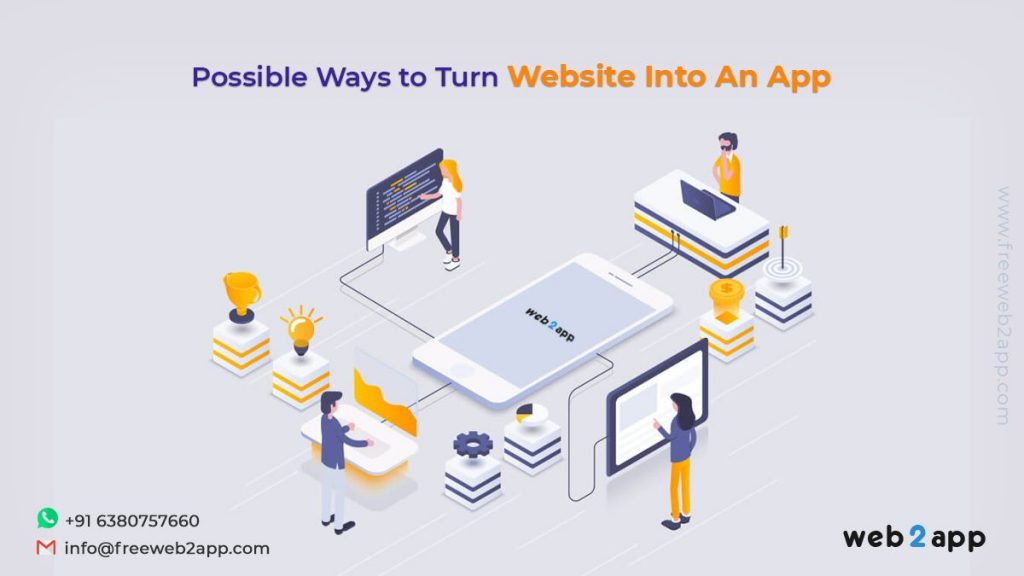 Possible Ways to Turn Website into an App - Freeweb2app