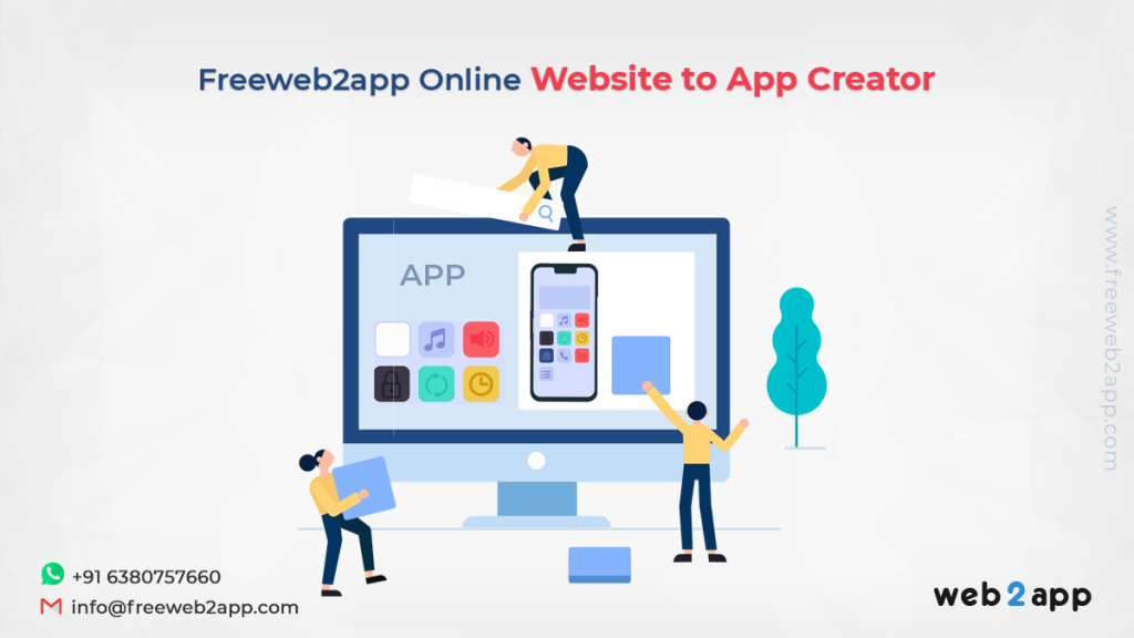 Freeweb2app Online Website to App Creator
