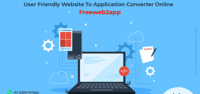 User Friendly Website To Application Converter Online - Freeweb2app