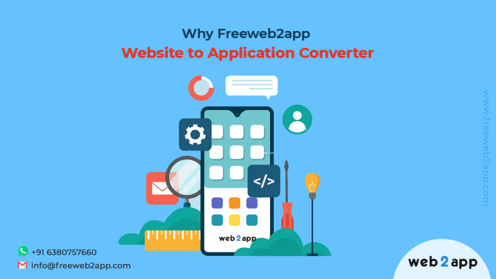 Why Freeweb2app Website to Application Converter