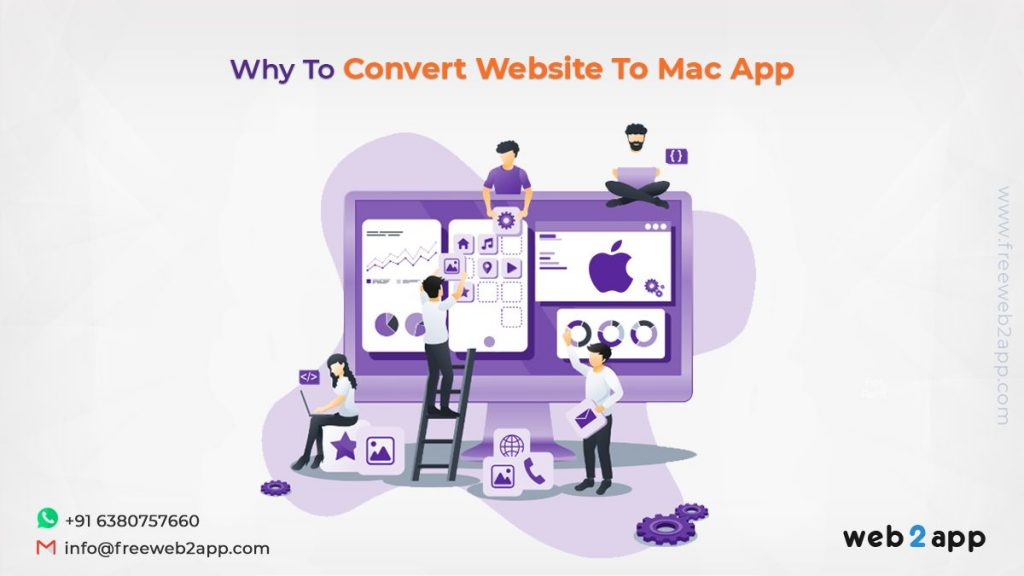 Why To Convert Website To Mac App - freeweb2app