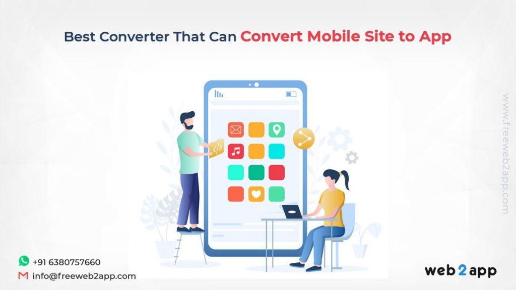 Best Converter That Can Convert Mobile Site to App - Freeweb2app