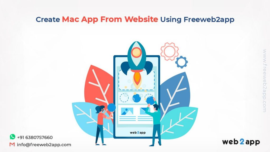 Create Mac App from Website Using Freeweb2app
