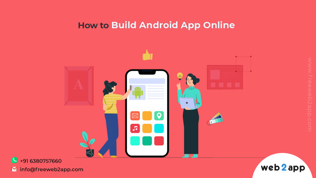 How to Build Android App Online - Freeweb2app