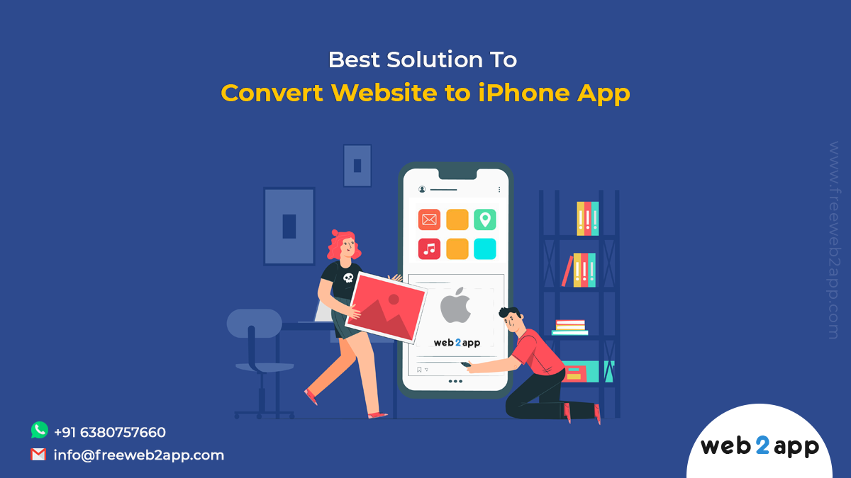 Best Solution To Convert Website to iPhone App - Freeweb2app