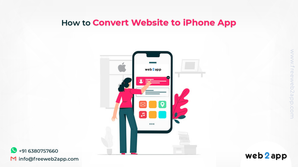 How to Convert Website to iPhone App - freeweb2app