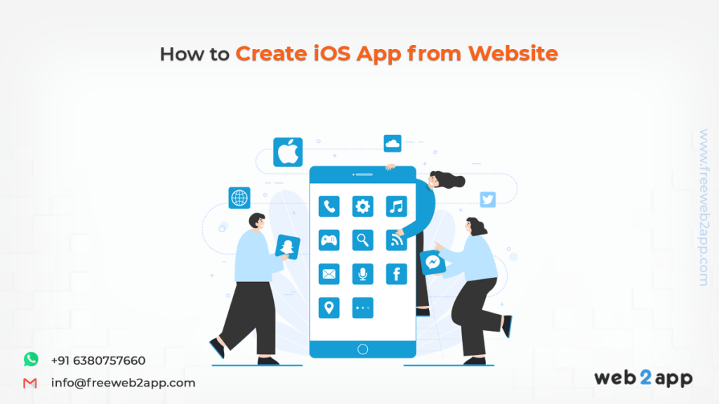 How to Create iOS App from Website - Freeweb2app