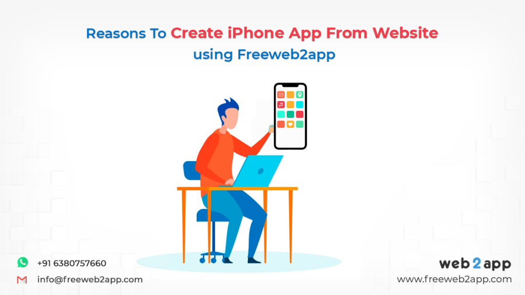 Reasons to Create iPhone App from Website using Freeweb2app