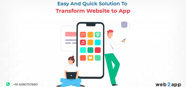 Easy And Quick Solution To Transform Website to App - Freeweb2app